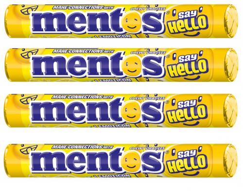 Mentos Say Hello Lemonade