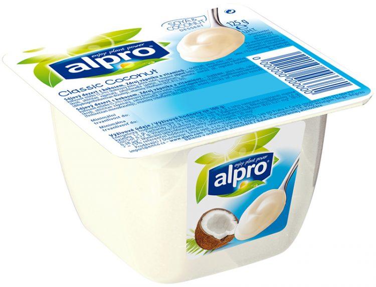 Alpro kokosový dezert