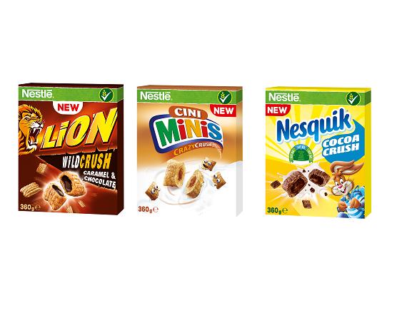 Snídaňové cereálie Nestlé