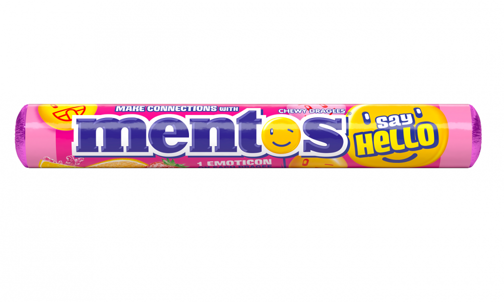 Mentos SayHello Fruit roll