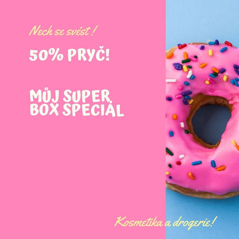 Speciál 50% vyprodáno!