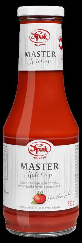 Ketchup Master 530g Tisk