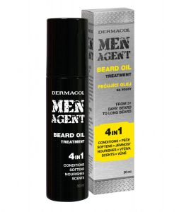 Men agent beard oil