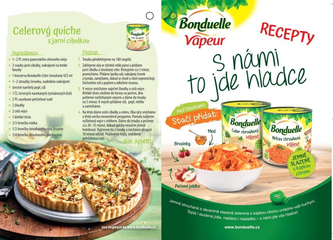 Bonduelle Celer strouhaný Vapeur
