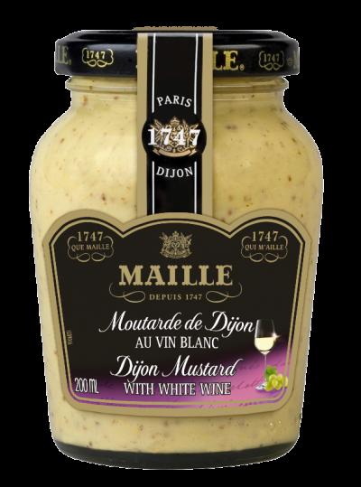 33007 – MAILLE – Krém.hořčice s bílým vínem 200ml