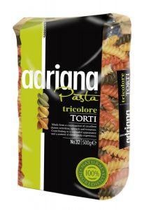 Adriana Pasta Tricolore Torti