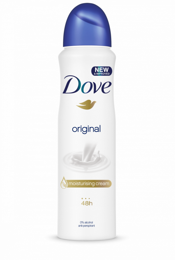 9171722 Dove deo spray Original 150ml