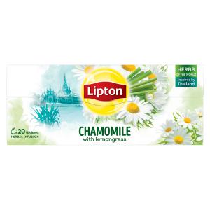 Lipton Bylinný čaj Heřmánek s citronovou trávou