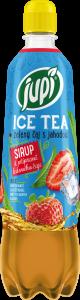 JUPÍ sirup Ice Tea Zelený čaj s jahodou