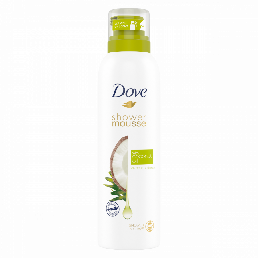 Dove Coconut shower mousse