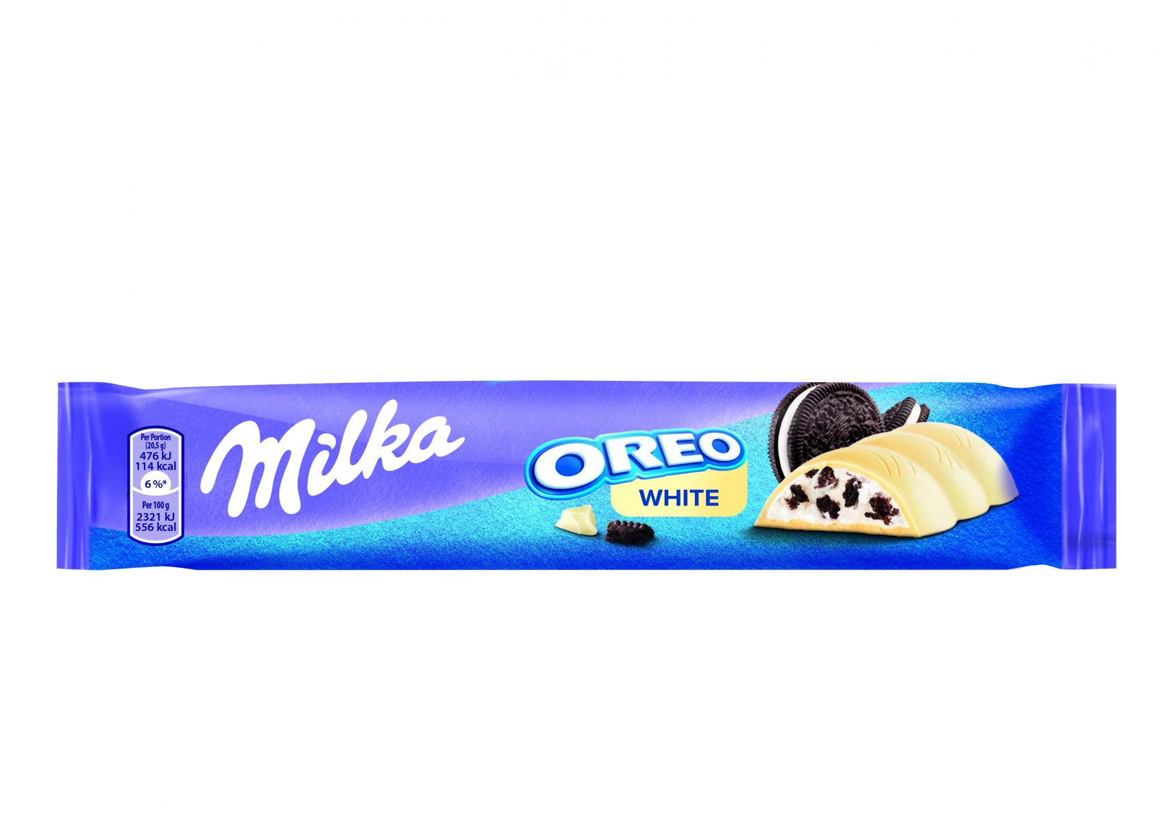 Milka Oreo White 41g front high res