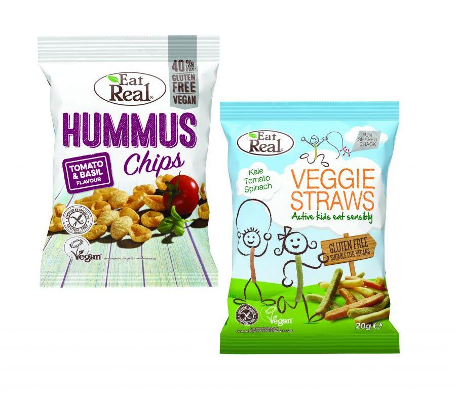Eat Real Veggie Straws KTS Kids g