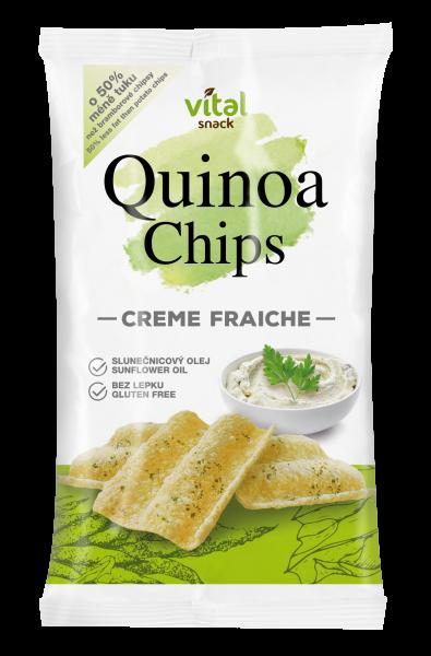 Qunioa Chips Creme Fraiche 60g – EAN 8594042912299