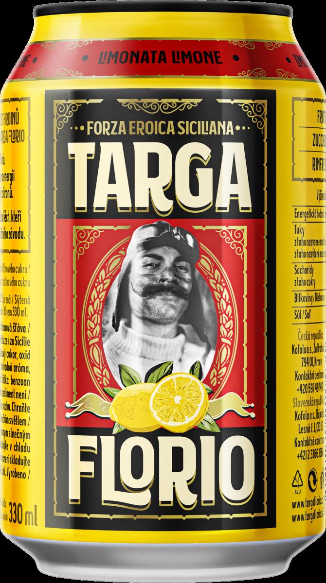 Targa Florio – Limone – 330 ml_lesk