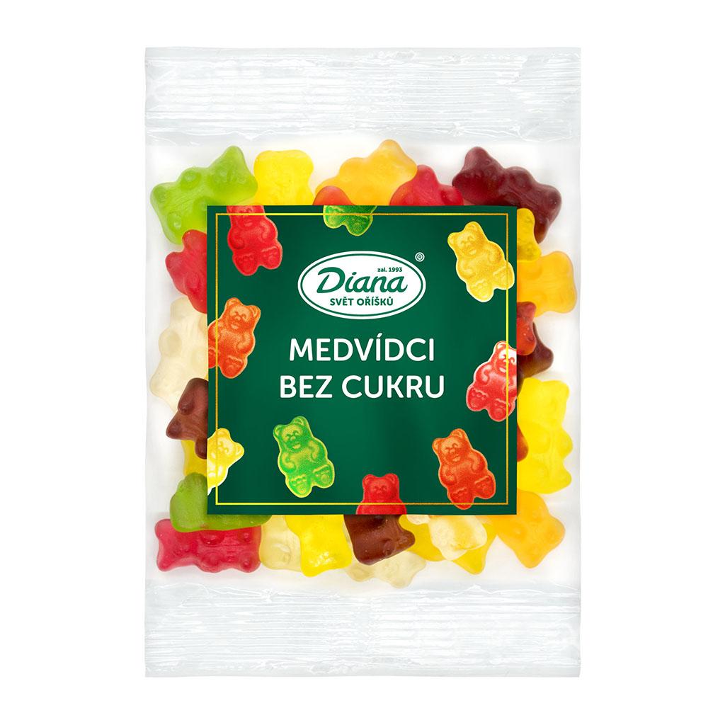 Medv°dci bez cukru 100 g diana company
